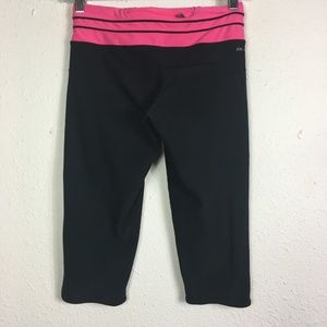 Nike Pants - Nike Dri-Fit S Black And Neon Athletic Capri Pants